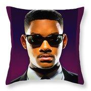 Jadas Man Throw Pillow