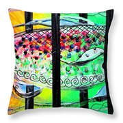 Jail Fish 135826 Throw Pillow