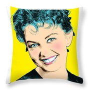 Janette Scott 2 Throw Pillow