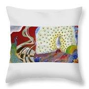 Japanese Modern Interior Art #153 Throw Pillow