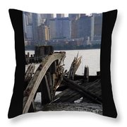 Jersey Broken Wharf IIi Throw Pillow