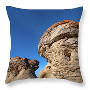 Jerusalem Geology Throw Pillow