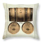J.h. Cutter Old Bourbon Throw Pillow