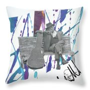 John Lee Throw Pillow