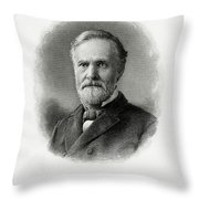 John Sherman Throw Pillow