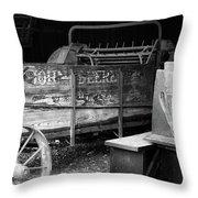 Johndeere Throw Pillow by Mark Jordan