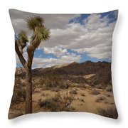 Joshua Tree National Park Throw Pillow