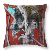 Jousting Throw Pillow