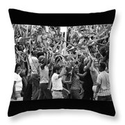Joy Is Evident Throw Pillow
