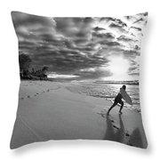 Joyful Embrace Throw Pillow