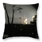 Jt Bowing Throw Pillow
