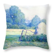 July Afternoon Throw Pillow