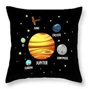 Jupiter Planet Universe Astronomy Throw Pillow