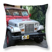Jurassic Throw Pillow