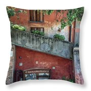Just In Case Throw Pillow