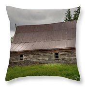 Kansas Barn Throw Pillow