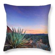 Kayenta Sunset Throw Pillow
