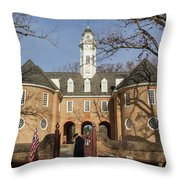 Keeper Of The Gate Throw Pillow