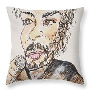 Kenny Loggins The Soundtrack King Throw Pillow