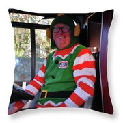 Kevin The Elf Throw Pillow