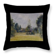 Kew Gardens, 1892 02 Throw Pillow