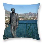 King Alfonso Xii Throw Pillow