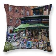 Kiosk Throw Pillow
