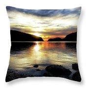 Kiss Of Sunset Throw Pillow