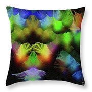 Kiss Of The Eclipse - Breaking The Gridlock Of Hate Number 4 Throw Pillow