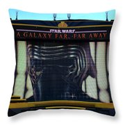 Klo Ren On The Star Wars Stage Hollywood Studios Throw Pillow