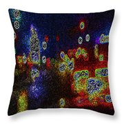 Kolorations 1 Throw Pillow