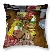 La Locanda Del Prosciutto Throw Pillow