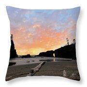 La Push Special Sunset Throw Pillow