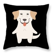 Labrador Retriever Gift Idea Throw Pillow