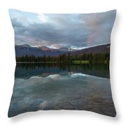 Lac Beauvert Throw Pillow by Paul Schultz
