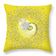 Lacy Look Shell Throw Pillow