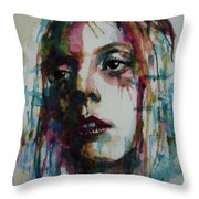 Lady Gaga Throw Pillow