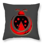 Ladybug Collection Throw Pillow