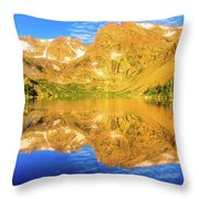 Lake Isabelle, Revisited Throw Pillow
