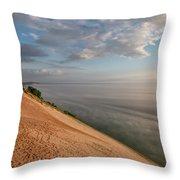 Lake Michigan Overlook 11 Throw Pillow