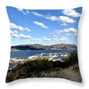 Lake Pleasant Az 21 Throw Pillow