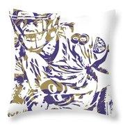 Lamar Jackson Baltimore Ravens Pixel Art 2 Throw Pillow For Sale By Joe Hamilton