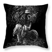 Lamb Throw Pillow by Clint Hansen