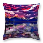 Landscapes 37 Throw Pillow