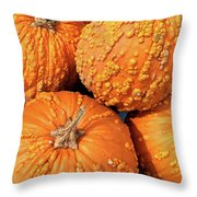 Lanterns-in-waiting Throw Pillow