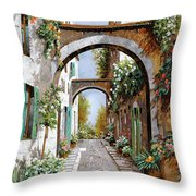 L'arco Dell'angelo Throw Pillow