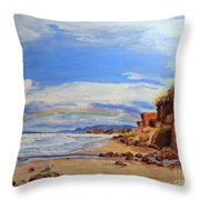 Laurens Lincoln City Throw Pillow