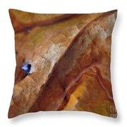 Leaf Series 1 Throw Pillow