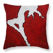 Leap Of Faith Original Painting Throw Pillow