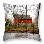 Lee's Merchant Mill Throw Pillow